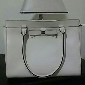 Cream Colored Leather Kate Spade Handbag